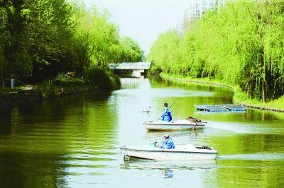 南京建邺区沙洲西河综合整治见成效