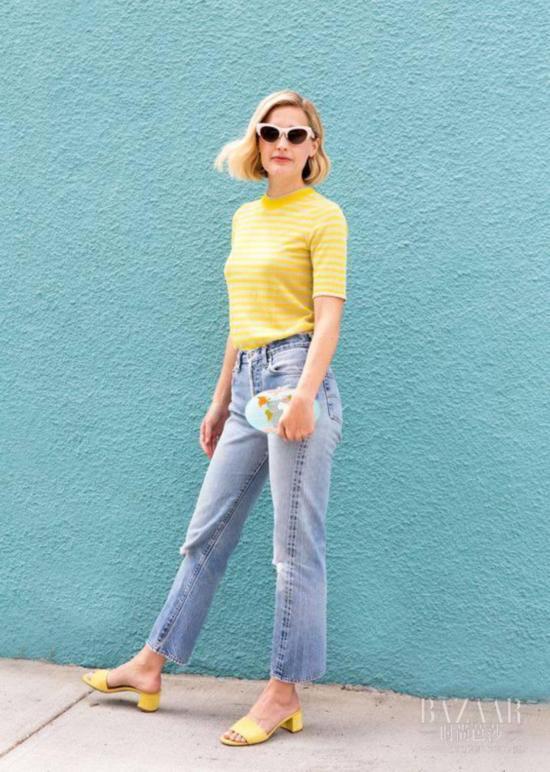 你就知道草木绿?2017最出人意料的是樱草黄,谁穿谁白!