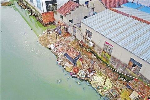 常熟一餐具消毒厂污水直接排河道 回应:已立案