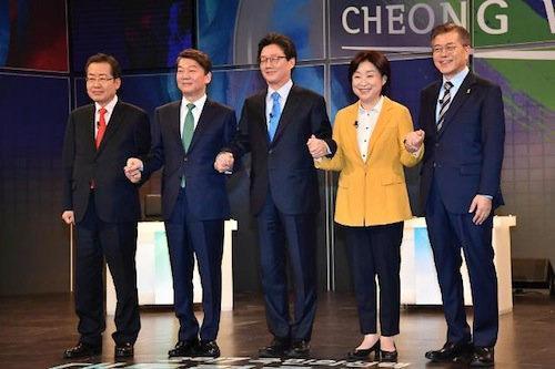 韩国新一届总统参选人数创历届新高