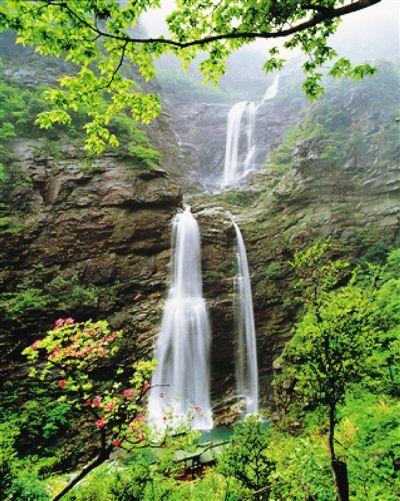 山与水的幸福结合