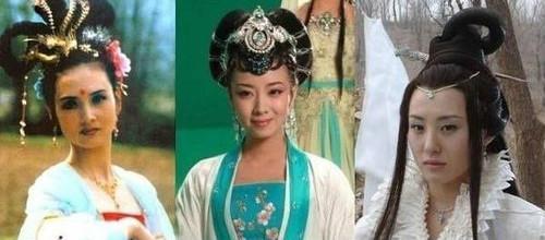 嫦娥扮演者,分别是邱佩宁、刘莹、王惠.还是86版的像仙女啊!-最图片