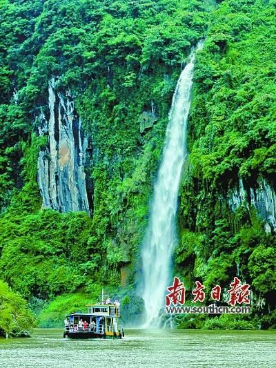 广东连州:一江春雨下湟川