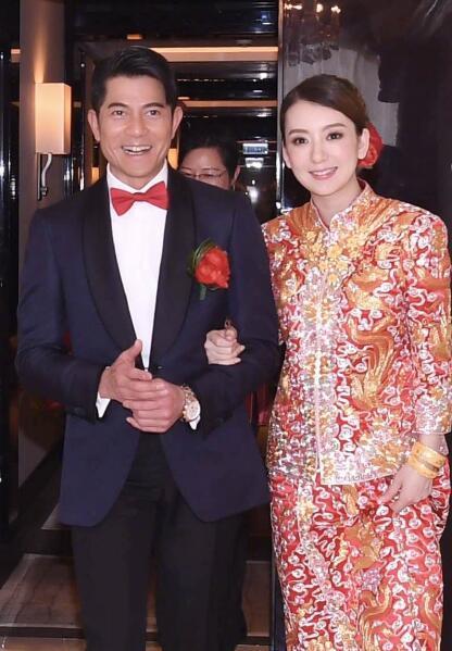 郭富城方媛结婚 郭天王岳父现场一句话让网友集体笑喷