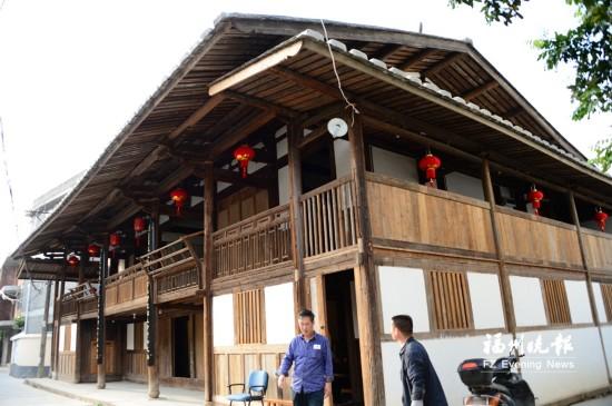 福州百年私塾书斋环翠楼重焕风华 人文历史挖掘获进展