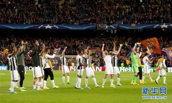 (体育)(1)足球――欧冠:尤文图斯晋级四强