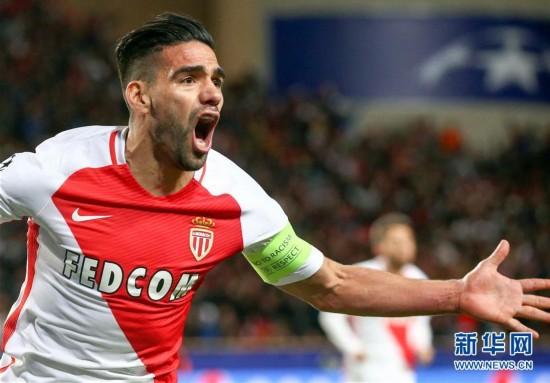 (体育)(1)足球――欧冠:摩纳哥队晋级四强