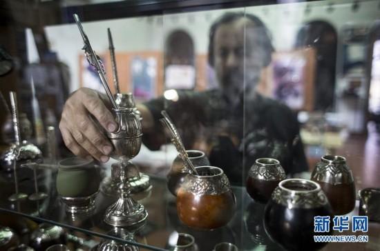 阿根廷马黛茶具