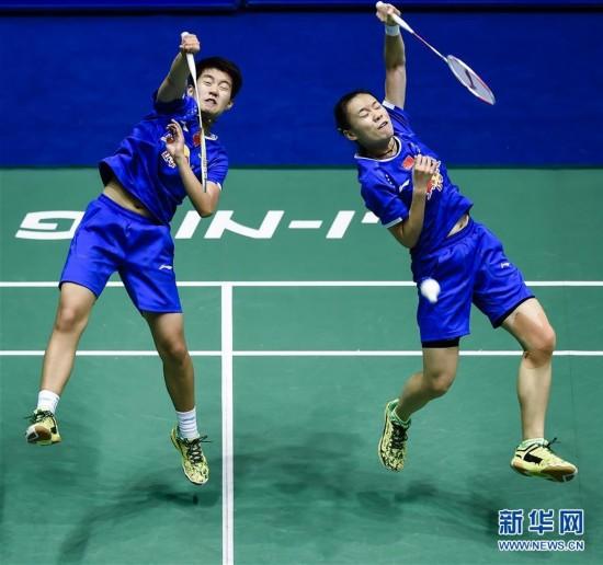 (体育)(1)羽毛球――中国大师赛:杜�h/徐涯晋级