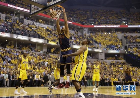 (体育)(5)篮球――NBA季后赛:骑士胜步行者
