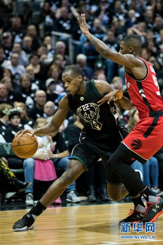 (体育)(3)篮球――NBA季后赛:雄鹿胜猛龙
