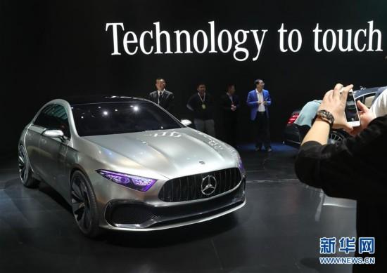 上海车展:奔驰A级概念车全球首发