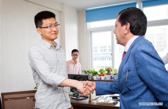 CHINA-ZHEJIANG-YIWU-TRADE-FOREIGN MEDIATOR (CN)
