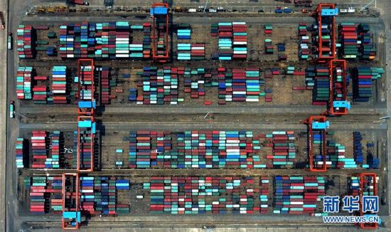 一带一路・好通道|俯瞰广西钦州保税港区