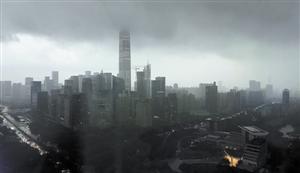 深圳周末天气以多云为主 有分散阵雨