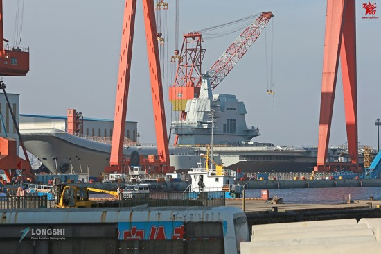 中国需利用好国产航母 让它带来对尊重和敬畏