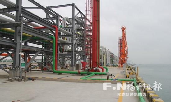 福州最大成品油码头本周投用 计划年吞吐量500万吨