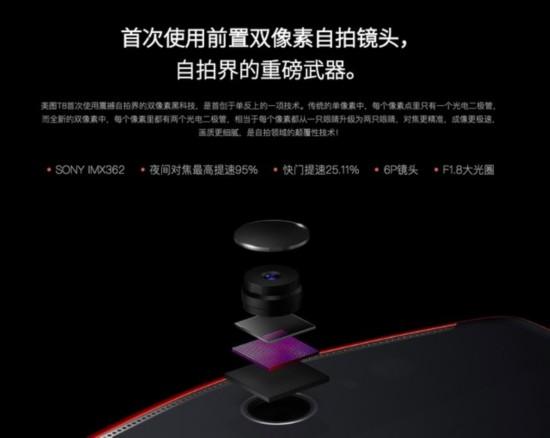 丢弃梳妆镜因靠美颜黑科技 美图T8评测(不发布)