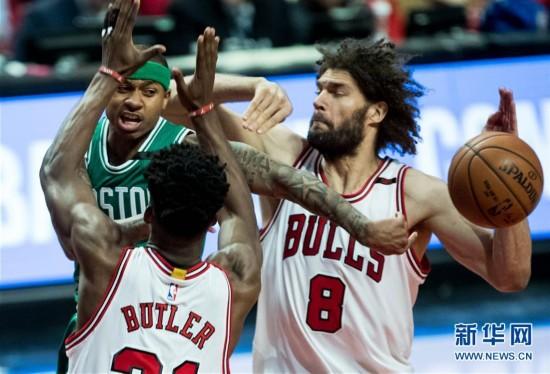 NBA季后赛:凯尔特人104-95战胜公牛 总分2-2
