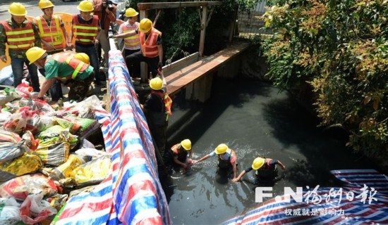 鼓台中心区水系21条内河开始综合治理