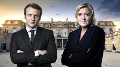 """法国大选将迎""""雌雄对决"""" 传统政坛格局大洗牌"""