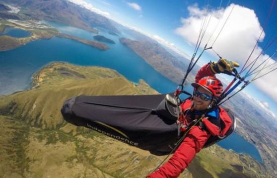 英滑翔伞运动员在新西兰飞行事故中丧生