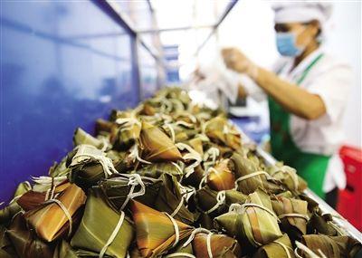 儋州粽子旺季提前到来
