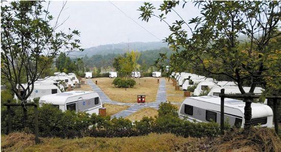 浙江现有房车营地12个 带着家旅行的生活越来越近