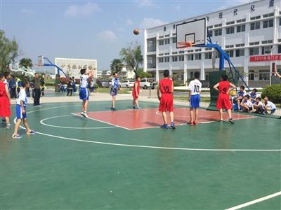 7支队伍角逐南通海门市小学男篮俱乐部比赛