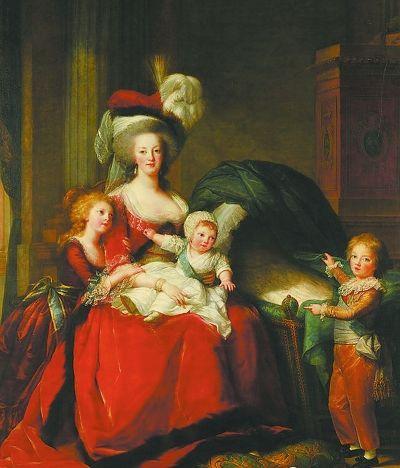 欧洲贵族妇女华丽的帽饰.图片