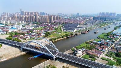 南通海安江海西大桥预计4月底正式通车