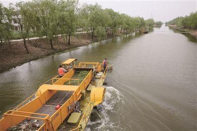 2017年南通海门投入4800万元整治圩角河