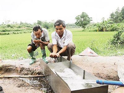 定安大舟村:325米深井打通 近300人用水不再难