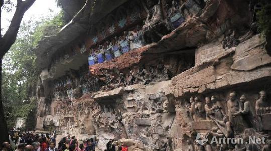 重庆大足石刻卧佛修复 一场技术与智慧的挑战
