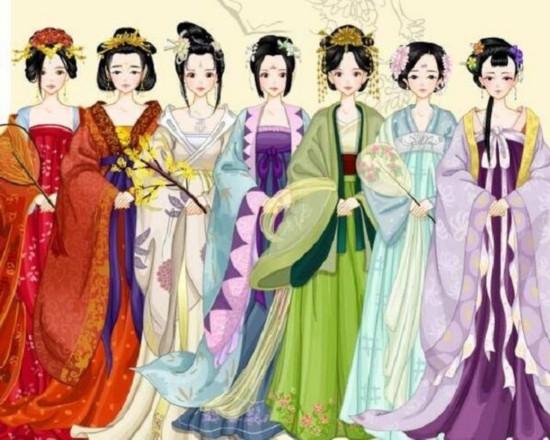 《天仙配》,不过由于年代久远,再加上技术有限,对这七位仙女的长相