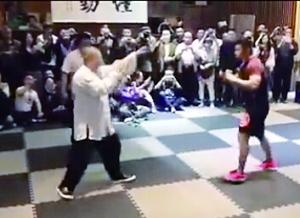 传统武术不堪一击 仅仅20分钟太极拳选手就被KO