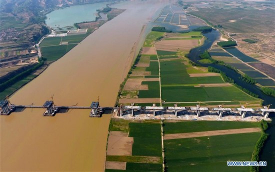 CHINA-SHANXI-YUNCHENG-YELLOW RIVER-BRIDGE (CN)