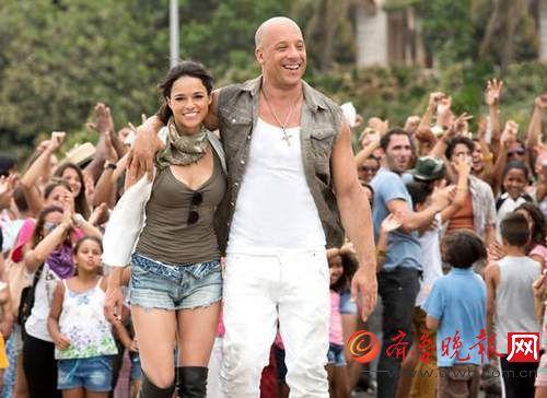 《速度与激情8》全球票房超10亿美元 中国破《速7》纪录