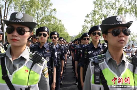 西湖女子巡逻队成西湖景区新名片【组图】天宫二号