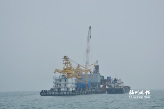 福清兴化湾海上风电场正在建设 一期首批机组争取7月并网发电