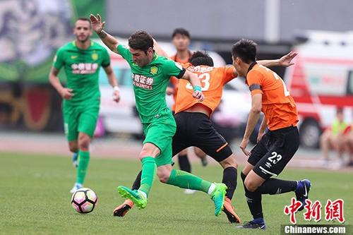 中国足协杯 北京中赫国安胜北京人和