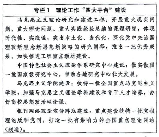 """中共中央办公厅国务院办公厅印发《国家""""十三五""""时期文化发展改革规划纲要》"""