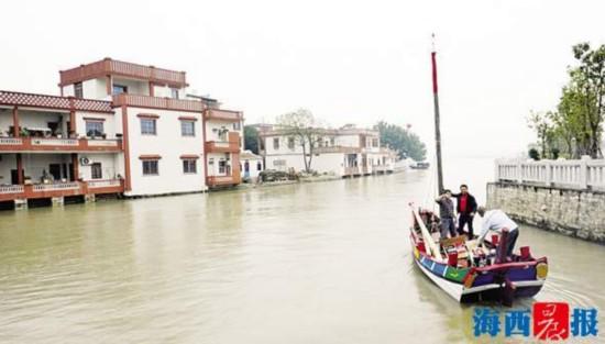 仿古福船将重走两岸航道 将自厦门沙坡尾航向台南安平港
