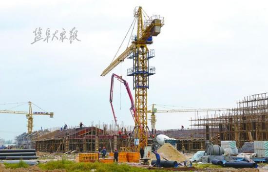 盐城阜宁6・23灾后重建安置点主体建筑完工