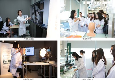 美即面膜专研中心实验室参观