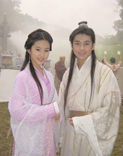 03版林志颖刘亦菲 天龙八部 幕后照 最令人唏嘘的是虚竹