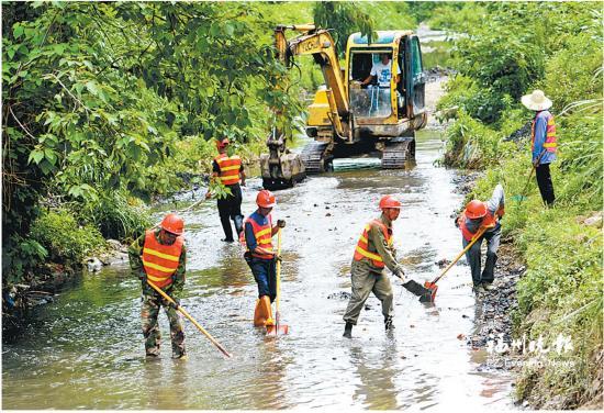 新店水系治理启动年内去黑臭 9条河道将变生态廊道