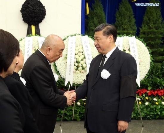 CHINA-BEIJING-FORMER SENIOR LEGISLATOR-FUNERAL (CN)