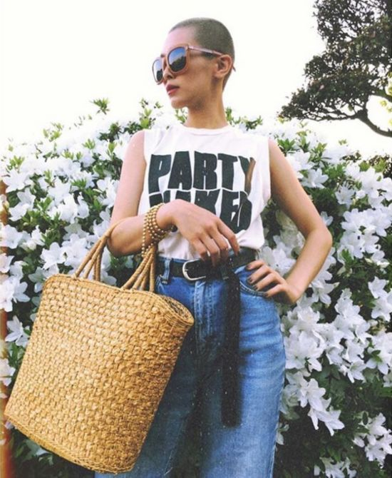 这位日本女模特儿畠山千明,日本最时髦短发 icon