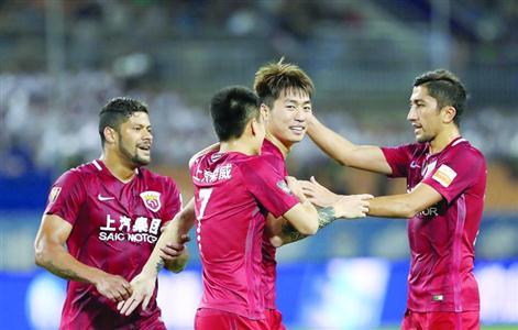 上海上港1:0力克天津亿利 取联赛客场首胜